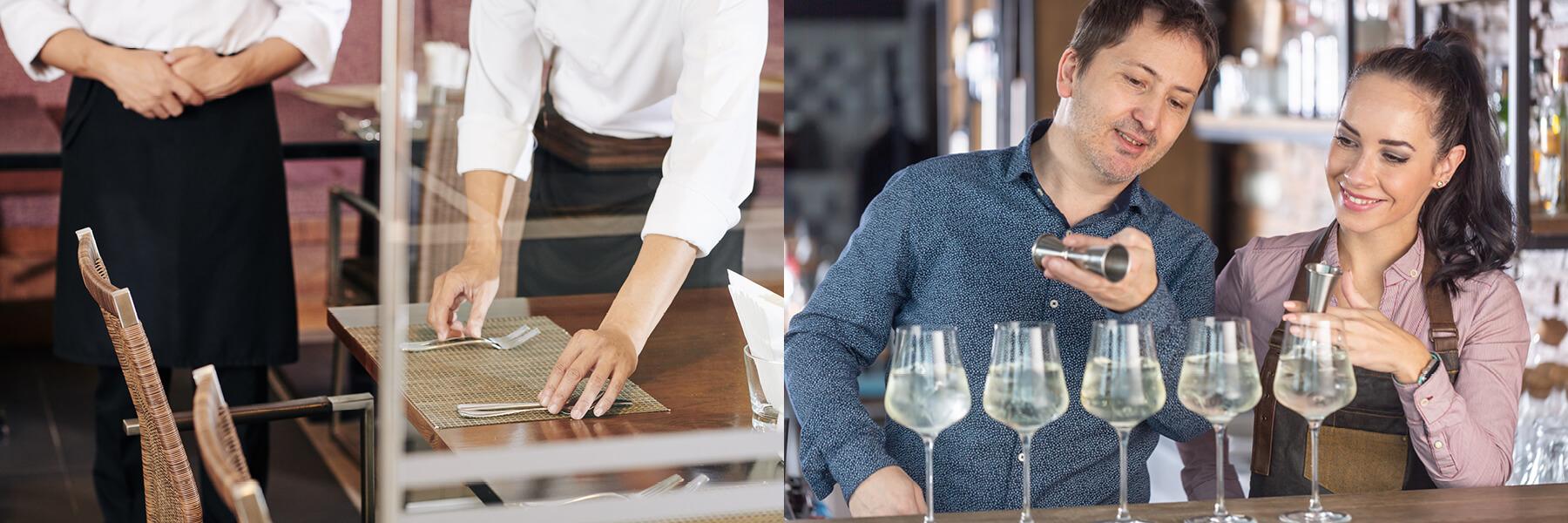 Serveur en salle/barman